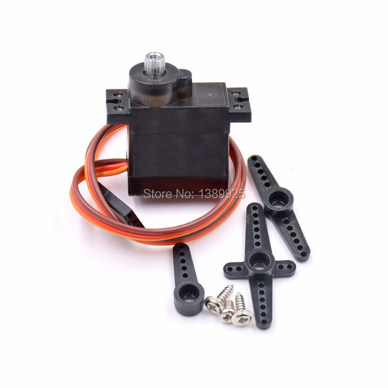 10Pcs MG90S Micro Metal Gear High Speed 9g Servo For RC Helicopter Plane Car Boat