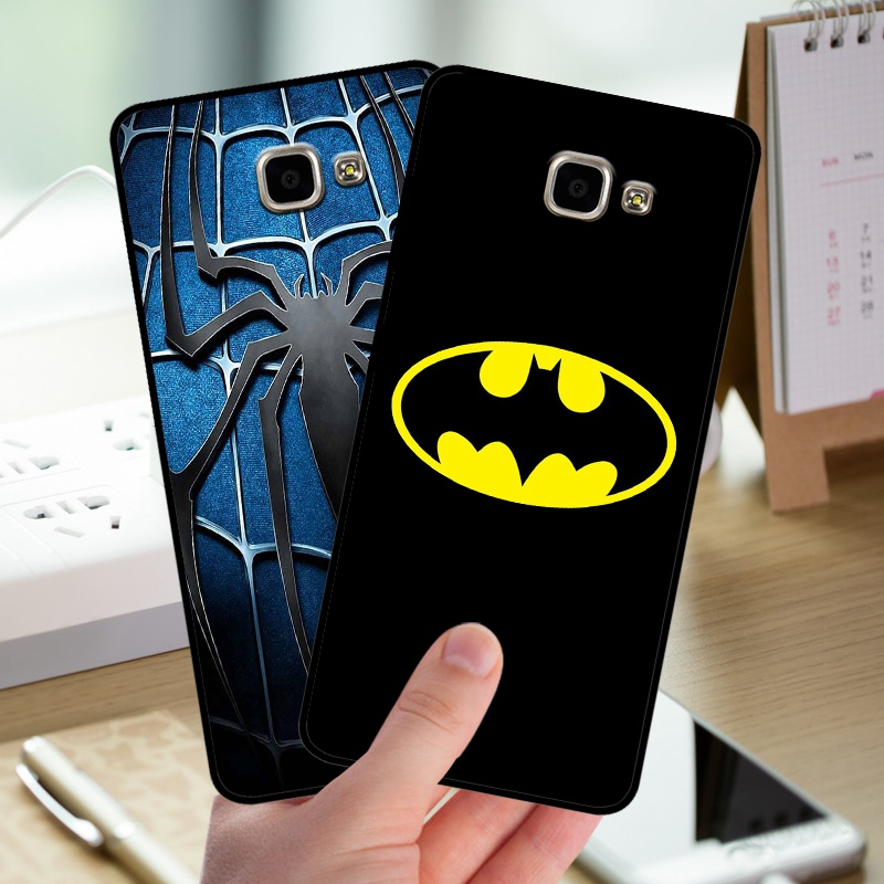 mosirui for <font><b>Samsung</b></font> Galaxy A9 Pro A9000 <font><b>A9100</b></font> case Silicone Cover soft shell Back in fitted phone case Marvel Comics Spider image
