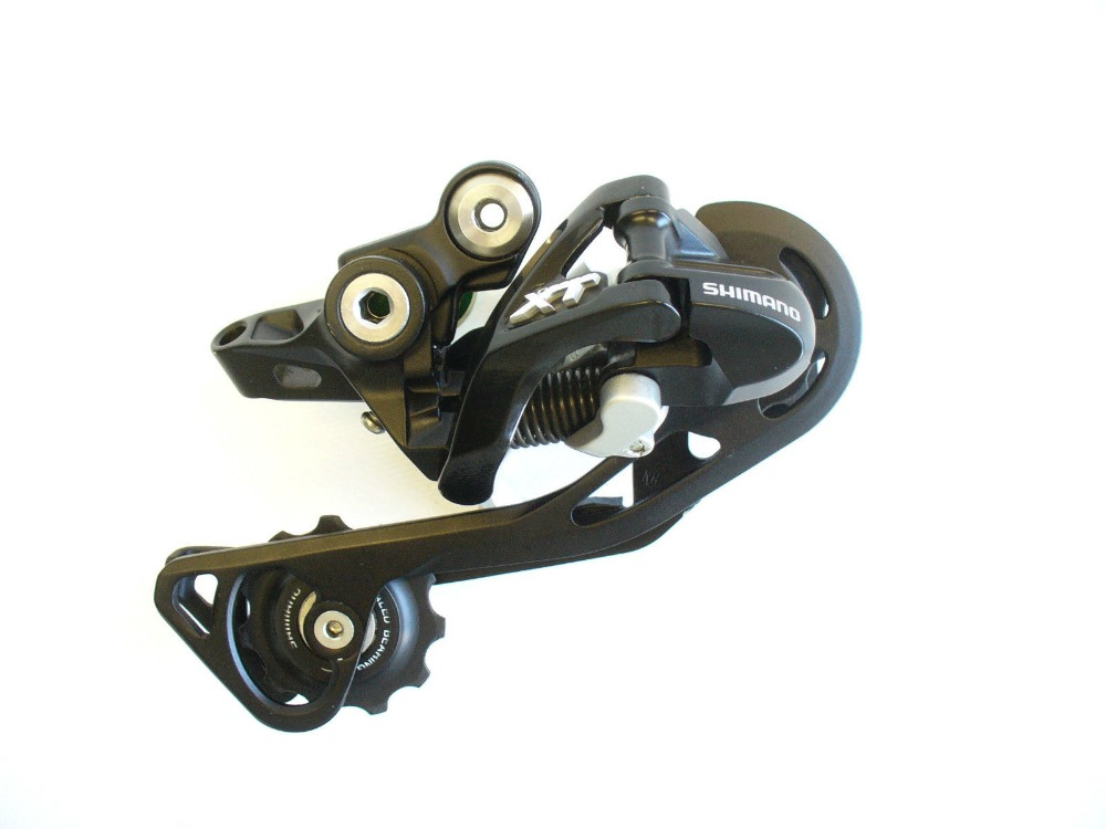 Shimano XT rd-m781 rd-m786 M781 M786 10 Speed Mountain bike bicycle Shadow Rear Derailleur Black Long Cage цена