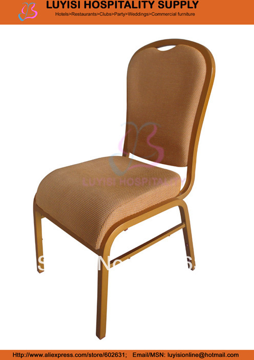 Luxury Stacking Aluminum Banquet Chair LUYSI3188