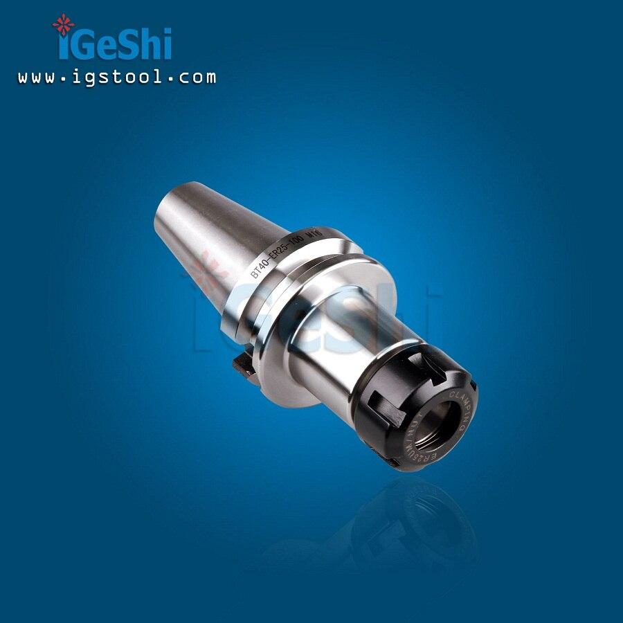 BT40 ER25 70L tool holder collet chuck BT40 ER25 CNC milling lathe  er16 bt40 long spring collet holder chuck milling lathe tool