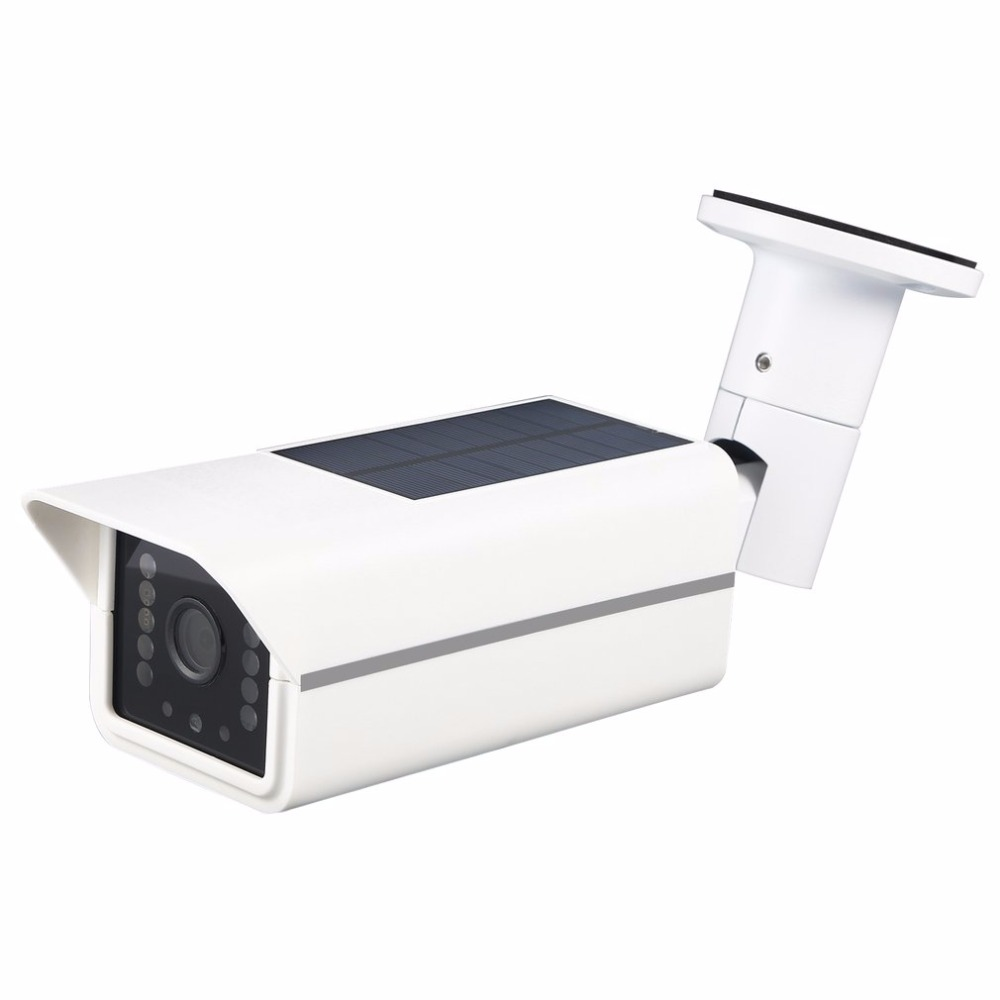 Solar Camera Power Waterproof Outdoor Security Camera With Night Vision Surveillance CCTV Camera Video Recorder TF Card