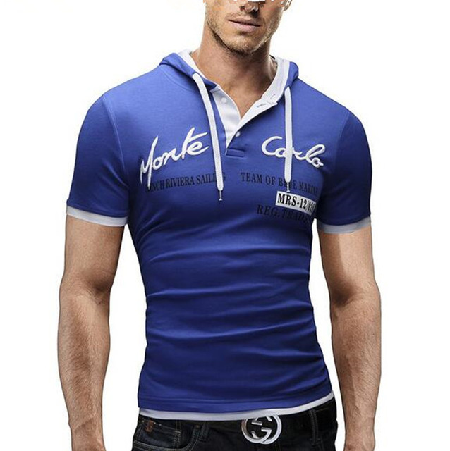 2016 Mens Polo Shirt Short-Sleeve Solid Polo shirt Men Homme Slim Mens Clothing Camisas Hooded Camisa Polo Shirt XXXL