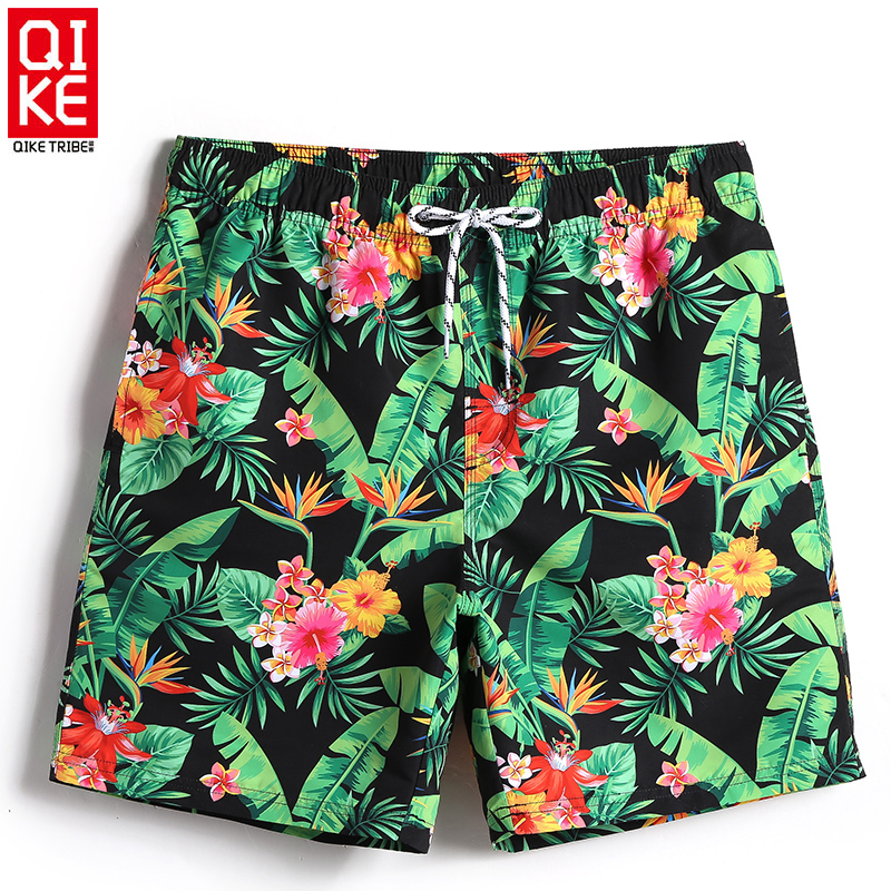 Board shorts men liner swimming trunks beach surfing swimwear quick dry  swim short lined mesh swimsuits men plavky sweat short