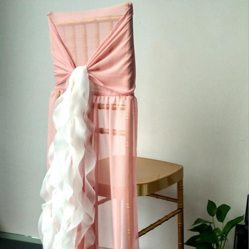 Romantic Wedding Party Hotel Supply Cover Chair Sashes Lace Wedding Banquet Chair Cover  ...