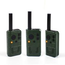 TC-MN01 Mini Handheld Ham Radio 2W UHF 430-450Mhz 16CH UHF Walkie Talkie Radio HYS