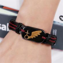 2pcs Per Pair Angel Wings Bracelet Love Couple Bracelet For Man And Woman