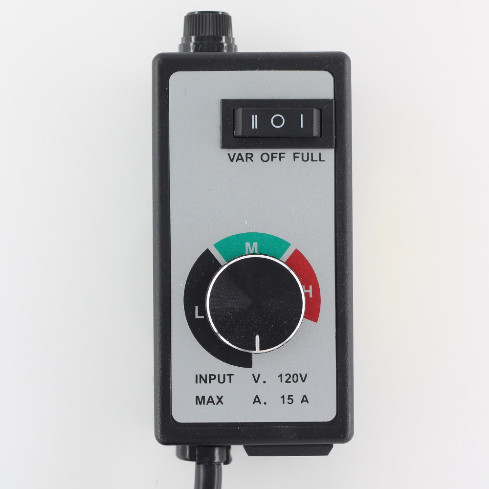 120VAC 1500W speed switch electronic stepless speed governor American standard used for fans power tools pumps lighting in Switches from Lights Lighting
