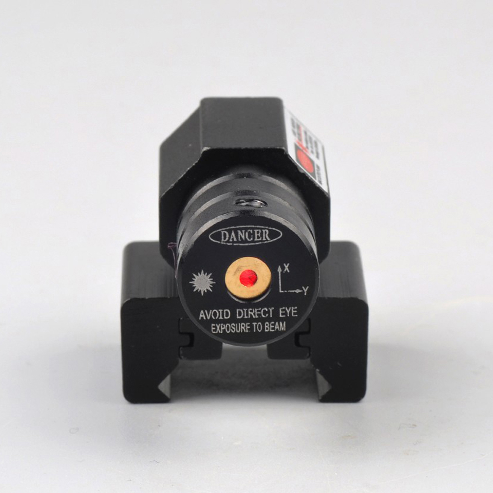 Rifle Optics Scope with Red Dot Laser Sight