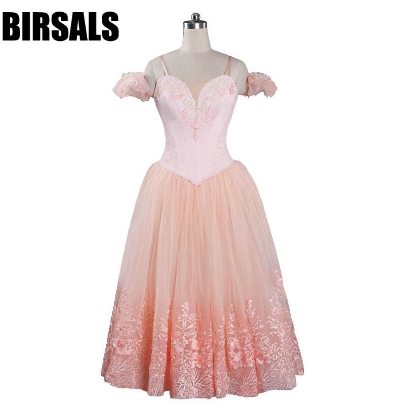 Femmes romantique Ballet Tutu robe rose ballerine Tutus Ballet filles professionnel Tutu Costumes danse Tutu DressBT9089