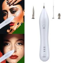 Portable Laser Freckle Dot Mole Mørk Spot Tattoo Fjernelse Pen Beauty Skin Machine Ny For Kvinder Mænd Ansigtspleje Tool HB88
