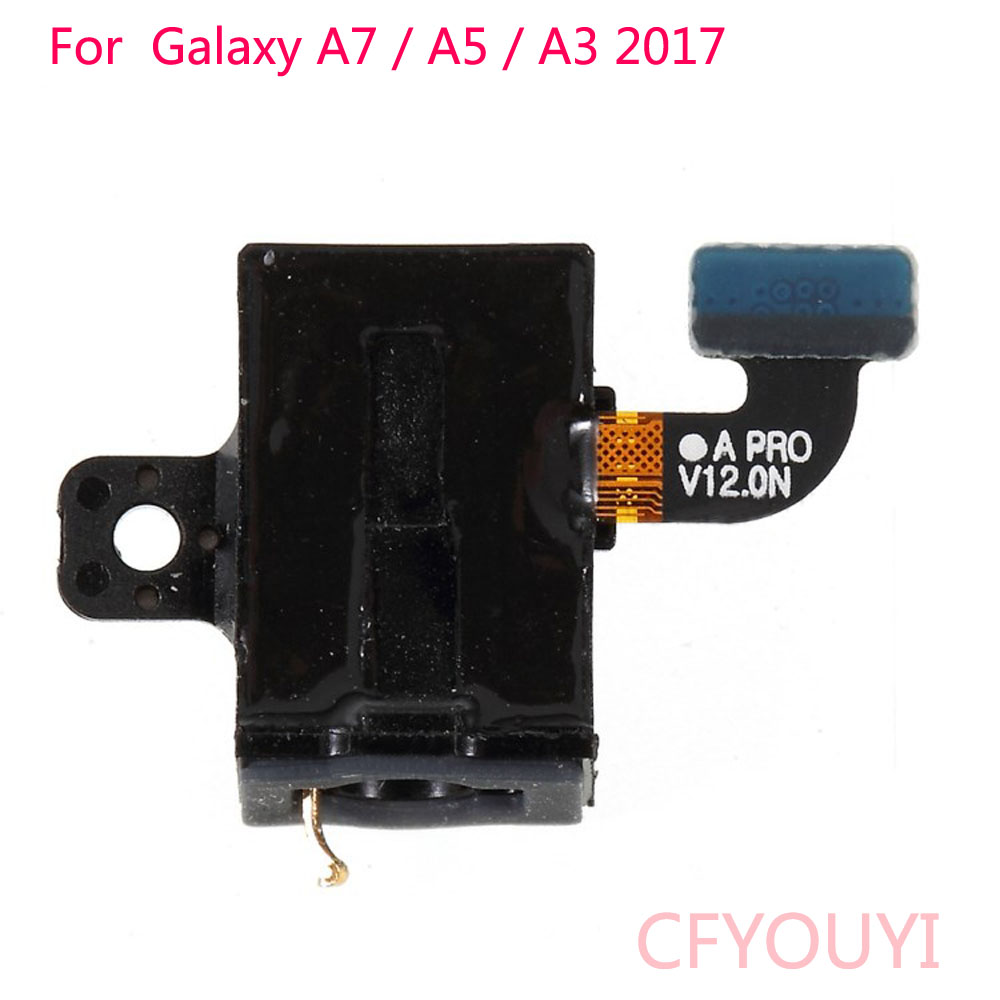 For Samsung Galaxy A3 A320 (2017) / A5 (2017) A520 / A7 (2017) A720 Earphone Jack Flex Cable Spare Part