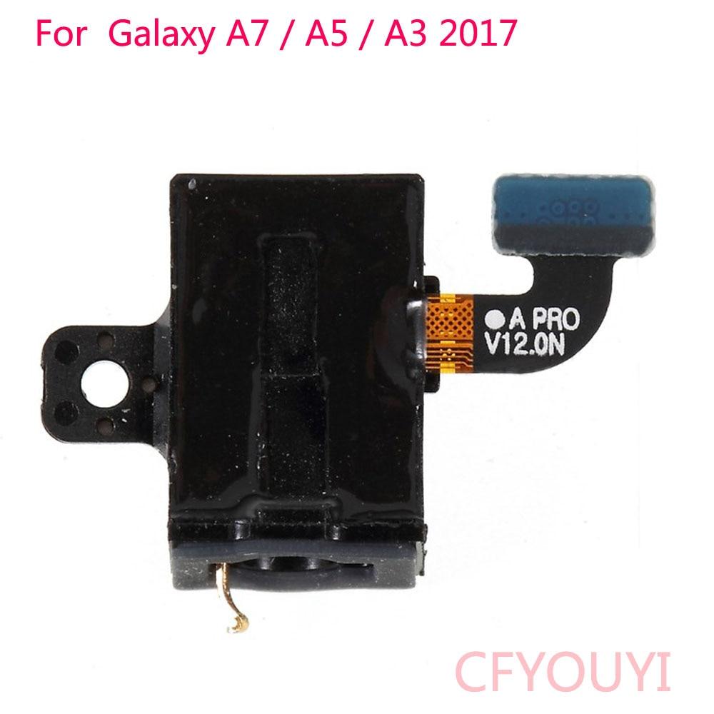 For Samsung Galaxy A3 A320 (2017) / A5 (2017) A520 / A7 (2017) A720 Earphone Jack Flex Cable Spare Part