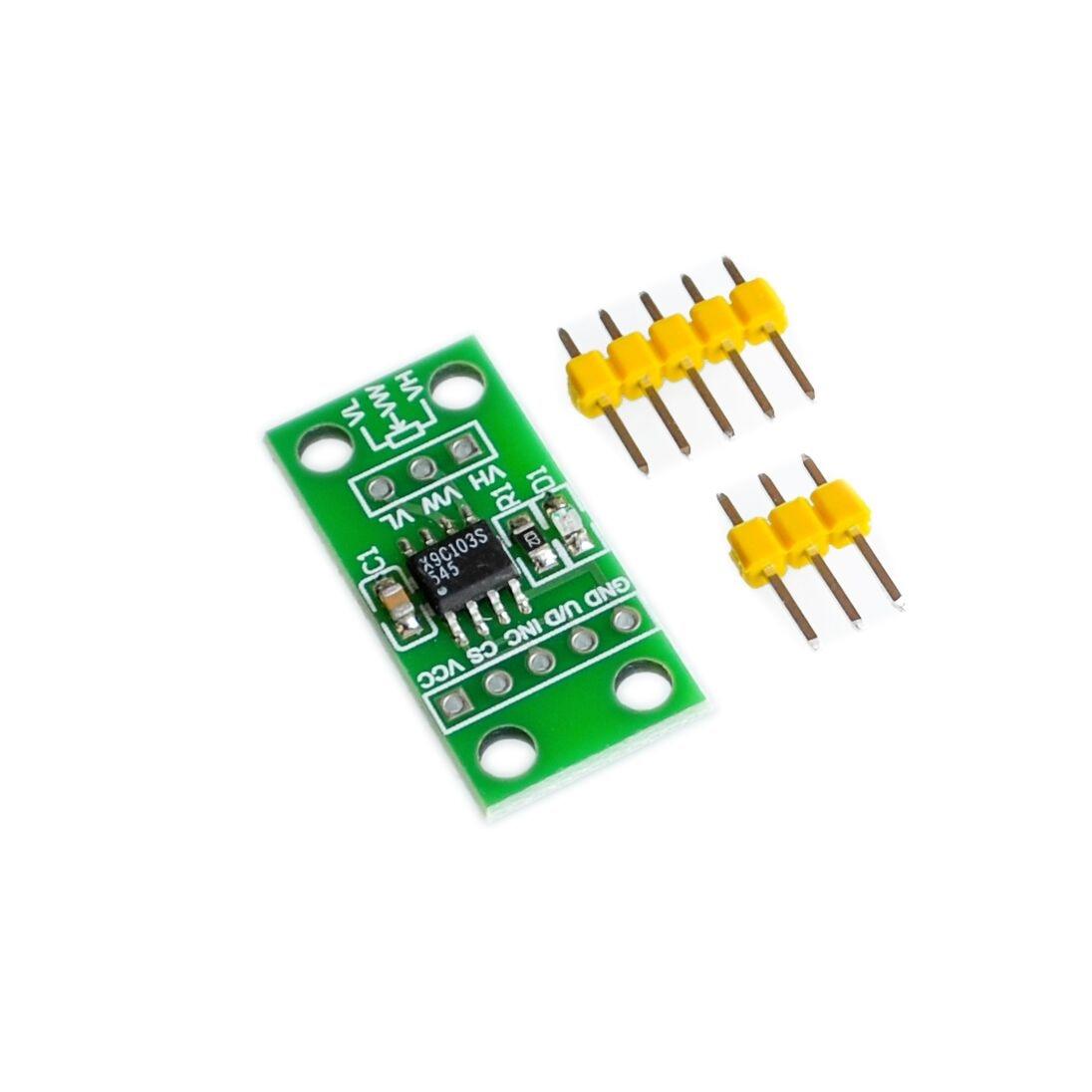 X9c104 Digital Potentiometer Module For Arduino Board Copper Clad Boards 10x15cm 100x150x12mm High Quality Circuit Pcb X9c103s Dc3v 5v
