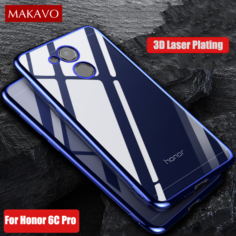 makavo for huawei honor 6c pro case 5 2 luxury soft. Black Bedroom Furniture Sets. Home Design Ideas