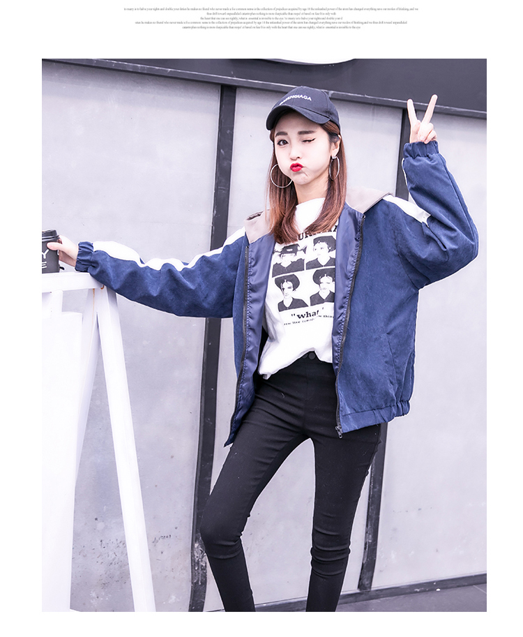 2019 Autumn Jacket Womens Streetwear Patchwork Hooded Totoro Jackets Kawaii Basic Coats harajuku Outerwear chaqueta mujer 59