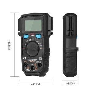 Image 4 - Bside ADM66 True Rms Digitale Multimeter Auto Range Trms Mini 6000 Dmm Dual Slot Capaciteit Ohm Hz Temp Ncv Diode pocket Tester