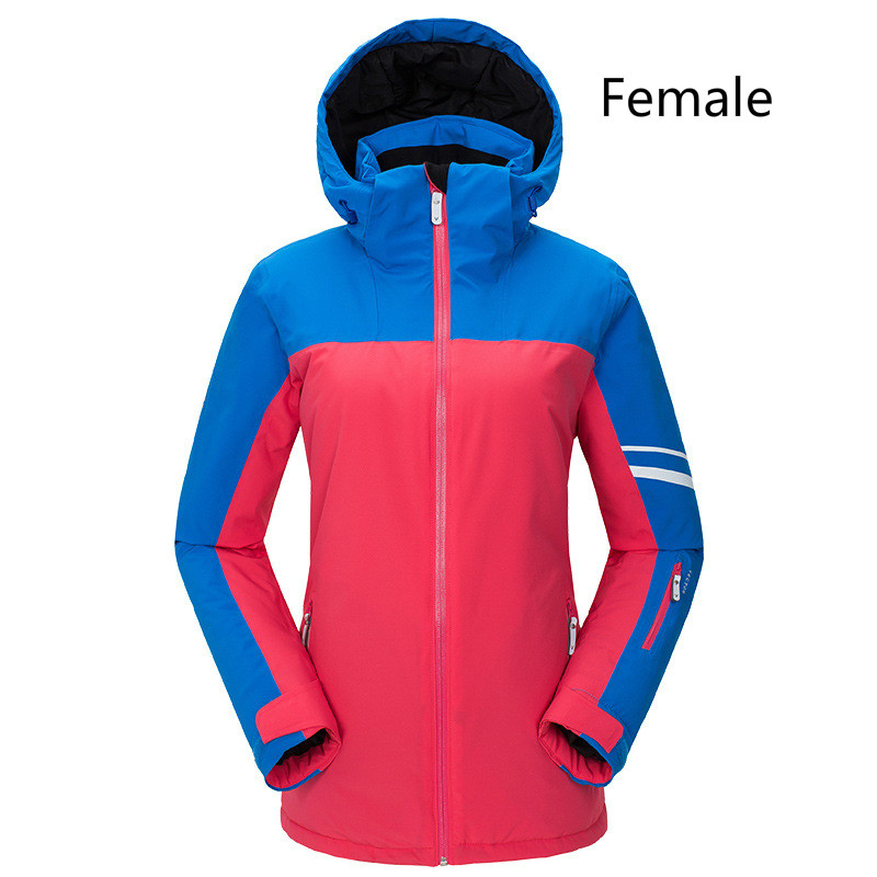 Acheter Extérieur Nouveau Ski Costume Couple Style D'assaut Vêtements Épaississement Chaud Sport Ski Veste Imperméable Ski Vêtements Pour Unisexe de Ski Vestes fiable fournisseurs