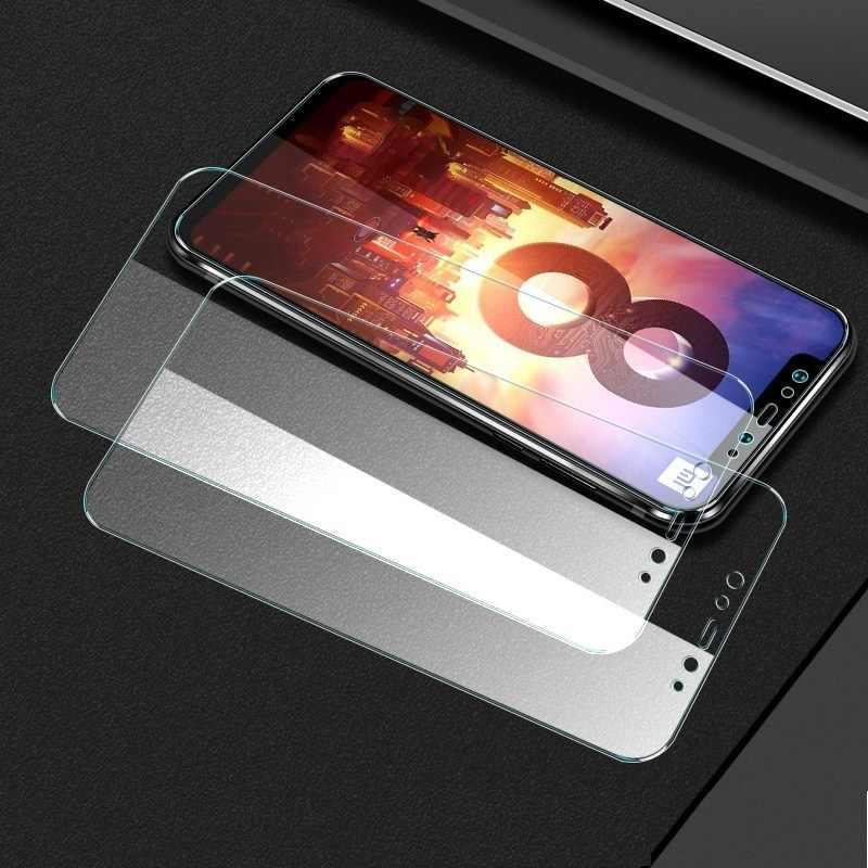 الزجاج المقسى ل شياو mi mi x 3 ماكس 2 3 Pocophone F1 mi 8 SE 8X 8Pro 8 لايت 6X 5X A1 A2 ملاحظة 3 النسخة العالمية شاشة واقية