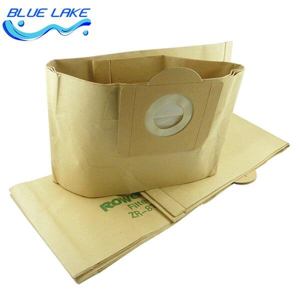 Original OEM Disposable big Vacuum cleaner dustbag,Composite paper garbage bag,for RU630/1113 RB820 ZR814,Vacuum cleaner parts цены