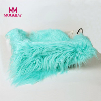 Newborn Photography Props Faux Fur Stuffe Background Baby Photo Soft Blanket 9 color 2018 new arrival fashion baby blanket