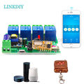 Smart Remote Control DIY Remote Wireless Switch Universal Module 4ch DC 5V 12V 32V 220V Wifi Switch Timer for Smart Home
