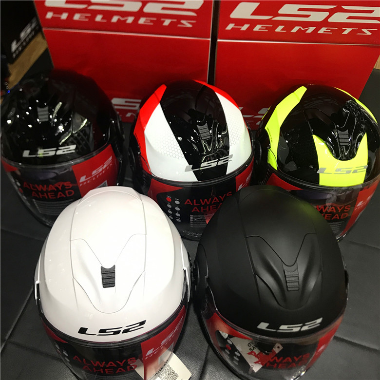 LS2 Verso OF570 Motorcycle Helmet Locomotive Retro Vintage 3//4 Open Face Helmets