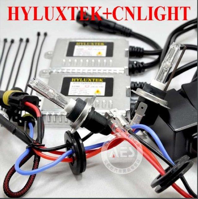 industrial price! HID conversion kit: 2pcs HYLUXTEK ballast+ CNLIGHT bulb H1 H3 H7 H9 H11 H13 880 9005 9006 D2S