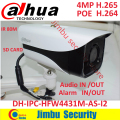 Dahua 4MP H.265 4MP IP camera bullet  Full HD  IR 80m POE IP67 cctv network security camera with bracket DH-IPC-HFW4431M-AS-I2
