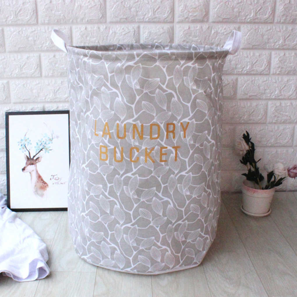 Collapsible Waterproof Laundry Box Home Office Toy Phone Charger Storage Basket Jewelry Makeup Organizer
