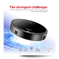 A6 Smart Plan Type Robotic Vacuum Cleaner With Wifi For Home
