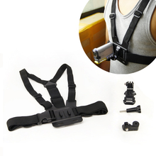 Регулируемый Chest Mount Harness ремень Аксессуары комплект для Sony спортивным мероприятием видеокамеры для AS100V AS200V 15 Аксессуары