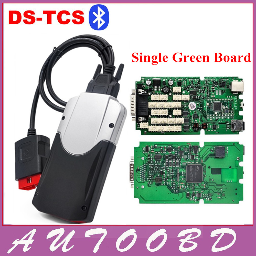 Подробнее о With Bluetooth! JAPEN NEC RELAY Latest Version New vci tcs cdp pro bt OBD2 / OBDII / OBD with Best PCB chip Green Single Board ! green pcb nec relays tcs cdp pro new designed red multidiag pro bluetooth 2014 r3 kengen obdii cars