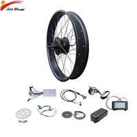 48V 1000W Electric Bike Kit Powerful Rear Drive Fat Bike 4.0 20 26 E bike Conversion Kit Brushless Gear Hub Motor Wheel Ebike