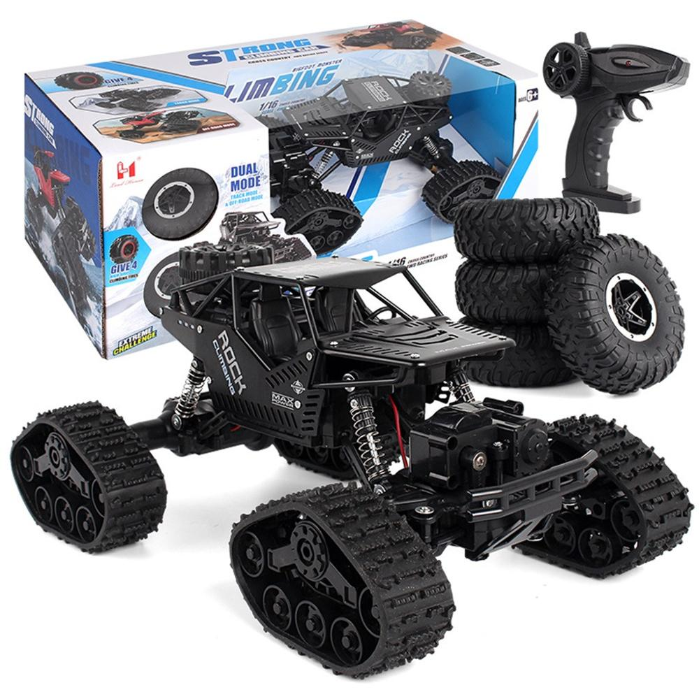 Image 3 - 1/16 Four wheel Drive Alloy Track Off road Remote Controll Climbing Car LH C012-in RC Cars from Toys & Hobbies
