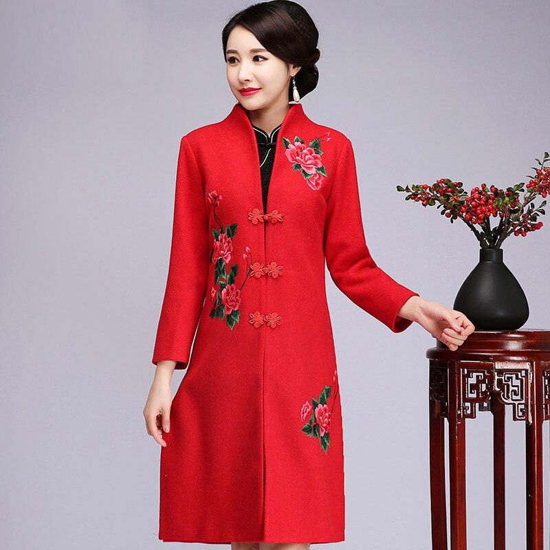 wholesale dealer 51eab 36980 Formato M Donne Vestiti Rosso Floreale Outwear Inverno Calda ...