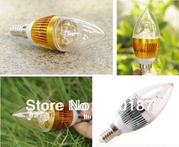 led E14 light bulb 3W 5W dimmable led candle bulb 3000K 4000K 6000K