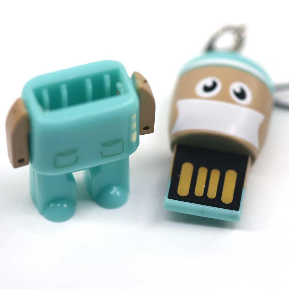 USB flash drive doctor USB stick 2GB 4GB 8GB 16GB 32GB 64GB enfermera memoria pendrive stick mini unidad de memoria USB