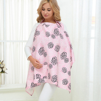 High Quality mummy breastfeeding cover 100% muslin/comb cotton infant baby outdoor nursing covers breast feeding baby cloth