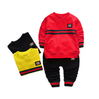 MBBGJOY Baby Boys Sets 2pcs Spring Autumn Toddler Suit Tshirt Pants 6M 3Y Kids Children Boys
