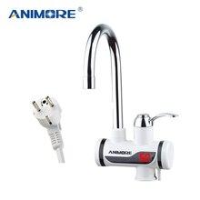 ANIMORE 電気タンクレス給湯器インスタント温水蛇口ヒーターコールド暖房の蛇口電気瞬時水ヒーター