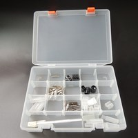 Household Multi Tiered Tool Box Water Proof Engineering Plastic Toolbox For Electronic Components SMD SMT Screw