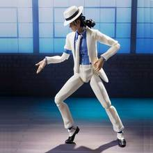 Michael Jackson Moonwalk PVC Action Figure SHF S.H.Figuarts King of POP MJ Collectible Model Toy For Children Gifts