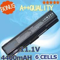 5200mAh Laptop Battery For Toshiba PA3534U 1BAS 3533 PA3534U 1BRS PA3535U 1BRSPA3682U 1BRS PA3727U 1BRS PABAS098