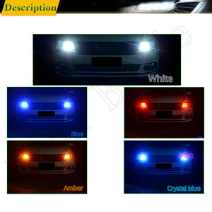 Image 5 - 2 x w5w led t10 194 168 자동차 조명 led 3030 1smd 자동차 자동차 인테리어 돔 독서 전구 라이센스 도어 램프 drl 자동차 스타일링 12