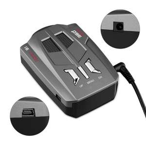 Vehicle-Radar-Detector Trucker-Speed Auto V9 Led-Display 16-Band Voice-Alert-Warning