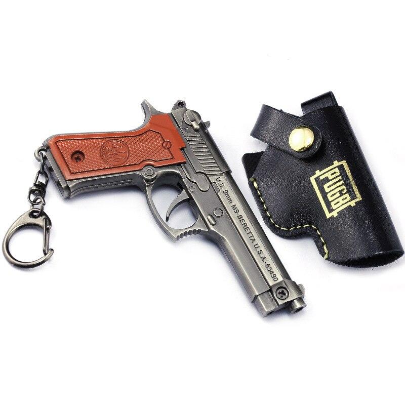 ... batalla Cosplay pubg Sartenes kar98k casco 3D arma periferia revólver  98 K Snipe pistola hebilla clave Aleación de armas en Accesorios disfraces  hombre ... 7b257b8a7838