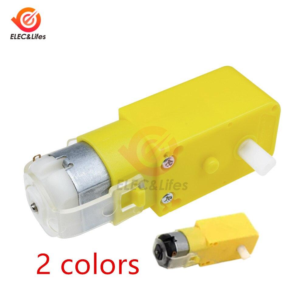 DC 3-12V Double axis DC Gear Motor 1:48 Dual Shaft Gear Motor Electric Motor for Arduino Robot Smart Car Toys DIY Module