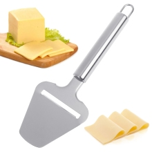Stainless Steel Cheese Slicer Chocolate Pizza Shovel Kitchen Cooking Accessories  rebanador de queso en stainless steel