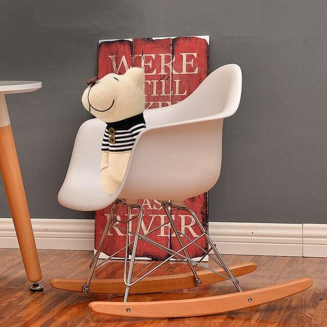 möbel stuhl mango modernes design kinder schaukelstuhl baby rocker freizeit wohnzimmer möbel kunststoff mode stuhl